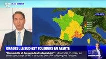 Orages: huit départements du sud-est restent en alerte