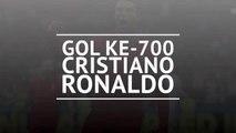 Gol ke-700 Cristiano Ronaldo