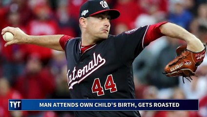 Washington Nationals Pitcher Dragged By Owner For Being A Good Dad