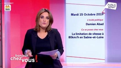 Damien Abad - Public Sénat mardi 15 octobre 2019