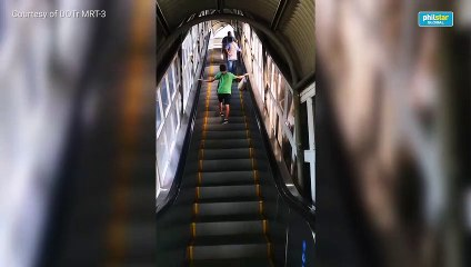 Majority of MRT-3 escalators now operational