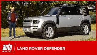 Land Rover Defender : premier contact avec la nouvelle génération