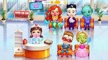 Sweet Baby Girl Superhero Hospital Care Kids Game Superhero Care Fairy Makeover Fun Games Toys For Girls