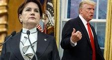 Meral Akşener, ABD'nin yaptırım tehdidine karşı önerilerde bulundu