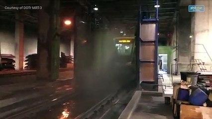 DOTr prepares integration of first Dalian train set into MRT-3