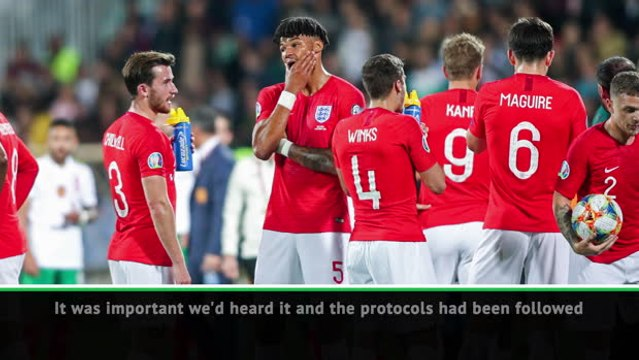 England considered walking off the pitch - Mings