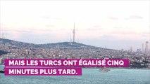 PHOTOS. Camille Cerf amoureuse, Tatiana Silva, Vianney... Les people à fond derrière les Bleus au stade de France