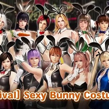 DEAD OR ALIVE 6 - [Revival] Sexy Bunny Costume Pack Trailer Official