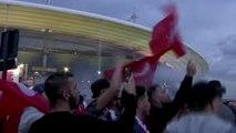 France/Turquie - Sport et politique : Les supporters n'ont pas voulu tout mélanger