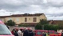 Mini tornade à Arles : d'impressionnants dégâts en vidéo