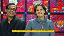 La Française Esther Duflo prix Nobel d'économie pour son travail sur la pauvreté