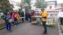 Mobilisation du personnel du CFA André-Siegfried contre la réforme de l'apprentissage