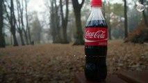 Coca-Cola dévoile ses premières bouteilles fabriquées à partir de déchets plastiques
