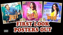Pati Patni Aur Woh | Kartik as Pati, Bhumi as Patni And Ananya as 'Woh' | First Look Posters Out
