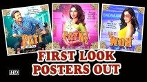 Pati Patni Aur Woh ,  Kartik as Pati, Bhumi as Patni And Ananya as Woh ,  First Look Posters Out
