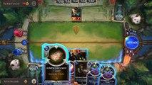 Gameplay comentado Legends of Runeterra