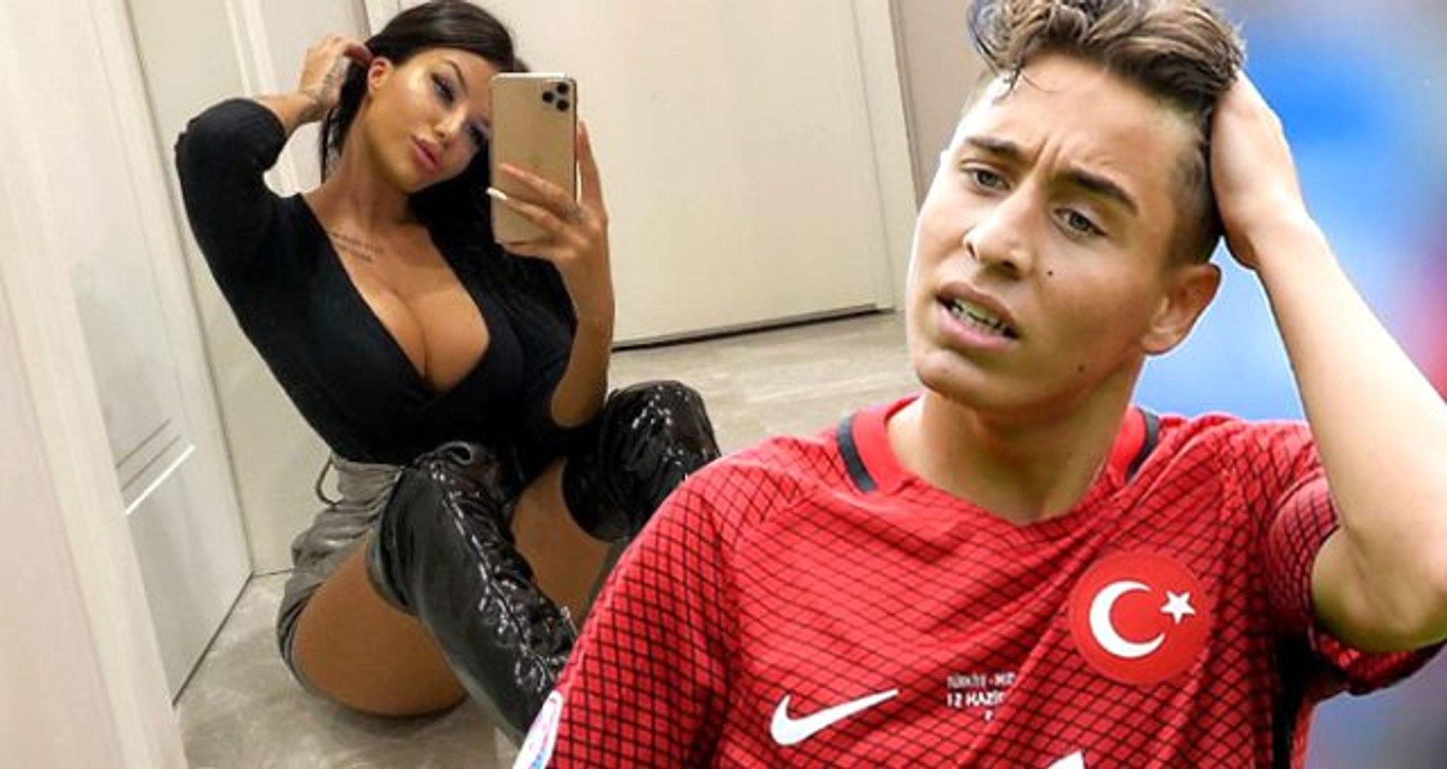 Sosyal medya fenomeni kadın, futbolcu Emre Mor'un attığı mesajı ifşa etti