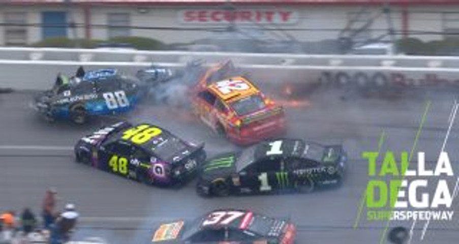 Bowman's block causes the 'Big One' at Talladega