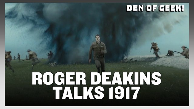 "NYCC (2019) - ""1917"" Interview With Cinematographer Roger Deakins"