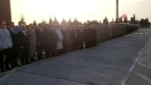 Barış Pınarı Harekatı şehitleri memleketlerine uğurlanıyor
