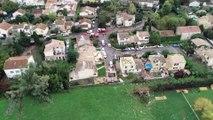 Tornade à Arles :  les dégâts impressionnants vus du ciel