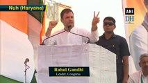 Narendra Modi is loudspeaker of Adani, Ambani: Rahul Gandhi