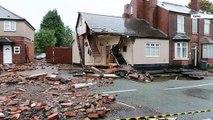 Burst Water Main Damages Tipton House!