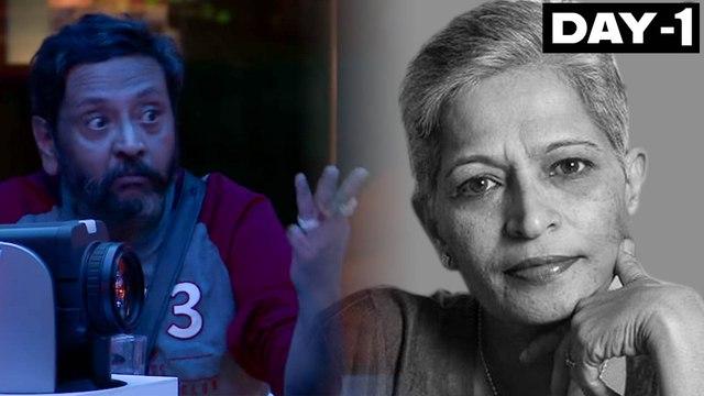 Bigg Boss Kannada 7 : Ravi Belagere speak about Gauri Lankesh.