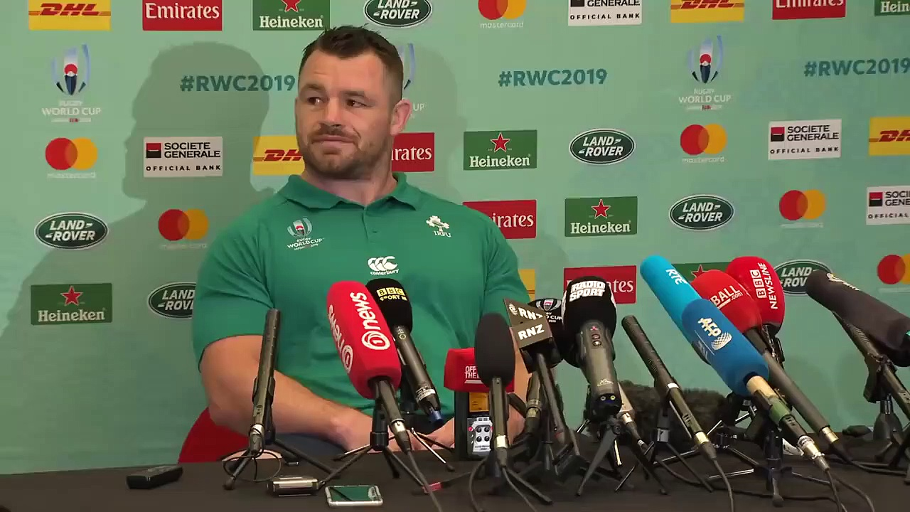 Irelands Cian Healy on Quarter-final against All Blacks