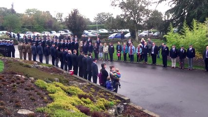 Funeral of Reg Tegg, a D-Day hero who also survived the evacuation of Dunkirk