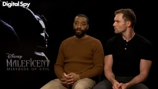 Chiwetel Ejiofor and Ed Skrein interview for Maleficent: Mistress of Evil