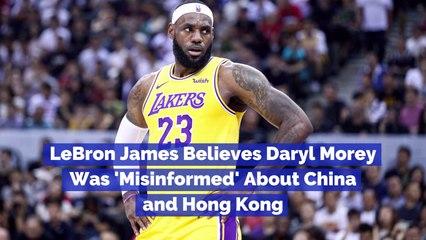 LeBron James Talks Daryl Morey Tweets