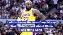 LeBron James Talks Daryl Morey Tweets