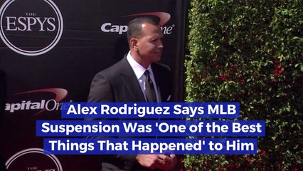 A Rod Looks Back On MLB Suspension