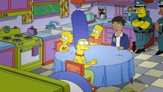 The Simpsons Season 31 Episode 3 The Fat Blue Line - The Simpsons S31E03