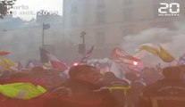 Paris: Des milliers de pompiers manifestent pour obtenir une revalorisation salariale