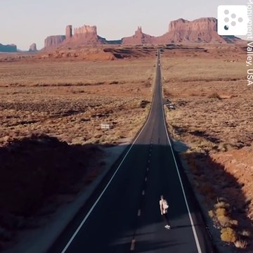 Rolling through Monument Valley