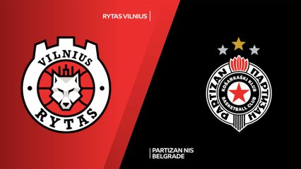 7Days EuroCup Highlights Regular Season, Round 3: Rytas 61-66 Partizan