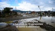 Japon: le typhon Hagibis tue plus de 70 personnes et laisse une région dévastée derrière lui