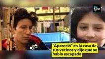Apareció Abril,  la niña de 10 años perdida en Punta Indio