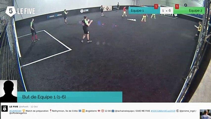 But de Equipe 1 (1-6)