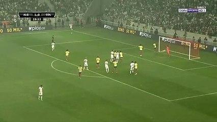 Buts de Bounedjah et Mahrez face à la Colombie (ALG 2-0 COL)