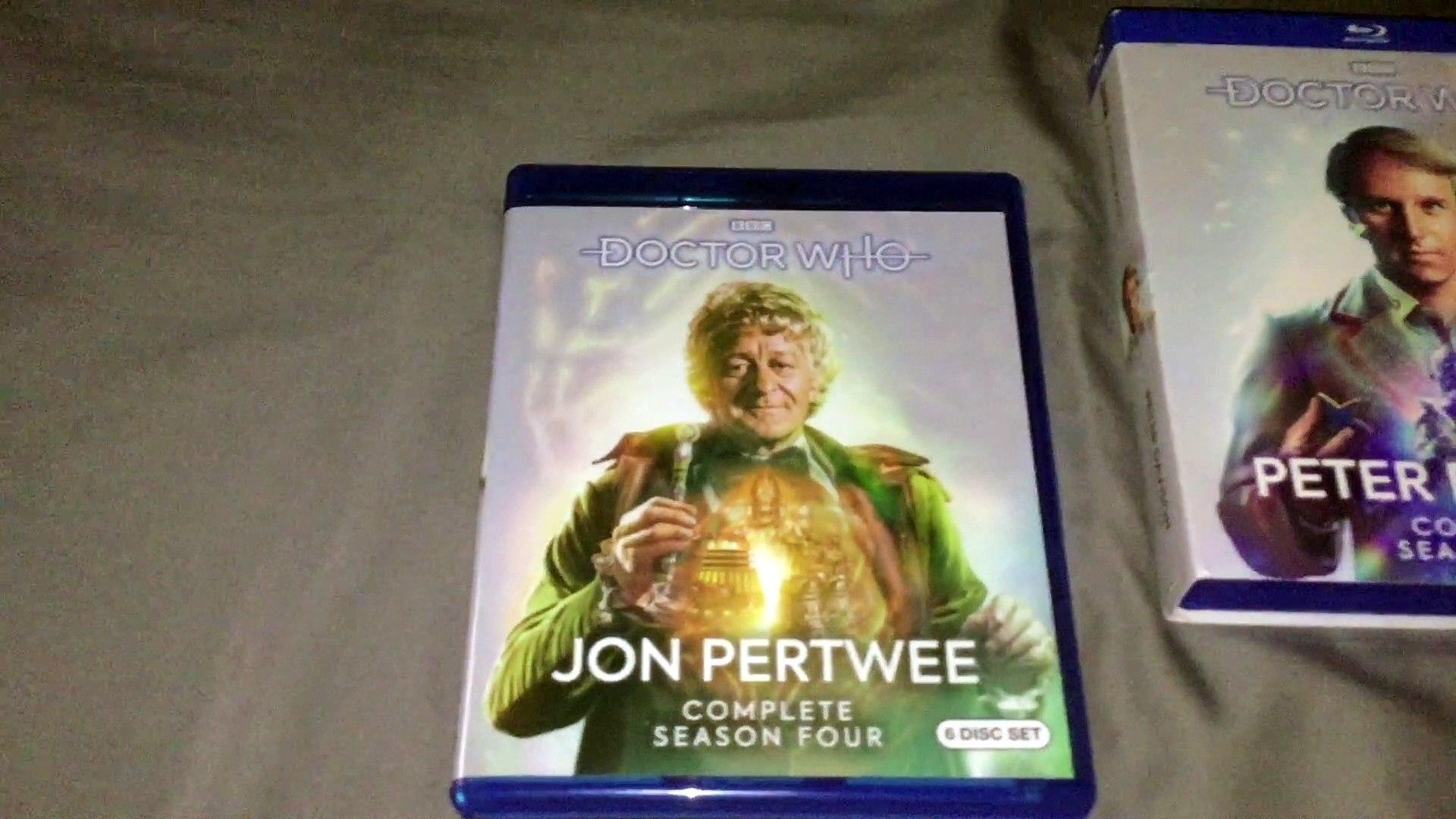 Doctor Who John Pertwee Season 4 Season 10 Blu Ray Unboxing
