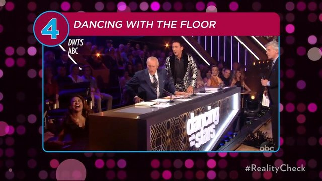 Carrie Ann Inaba Falls Off Her Chair During Disney-Themed 'Dancing with the Stars' Episode