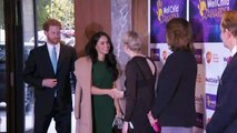 Harry and Meghan meet the winners at the WellChild awards