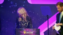 Prince Harry makes emotional speech at WellChild awards