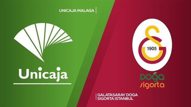 Unicaja Malaga - Galatasaray Doga Sigorta Istanbul Highlights | 7DAYS EuroCup, RS Round 3