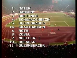 EC 1972-73 1-4 Final Game 2 - Bayern Munich vs AFC Ajax - 1.Half