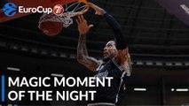 7DAYS Magic Moment of the Night: Julian Gamble, Segafredo Virtus Bologna