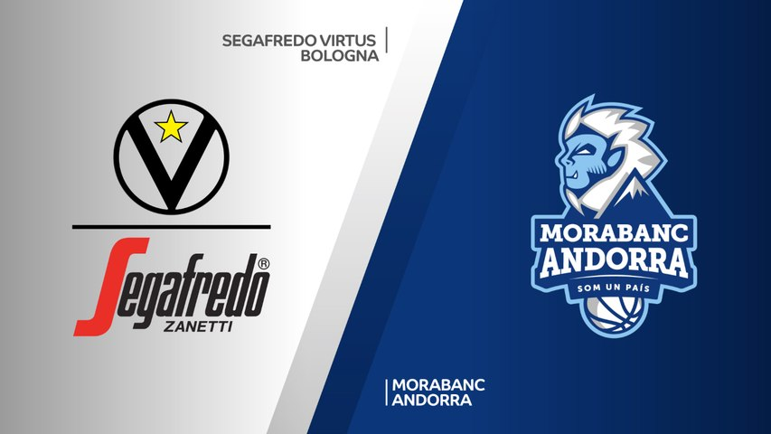 Segafredo Virtus Bologna - MoraBanc Andorra Highlights | 7DAYS EuroCup, RS Round 3